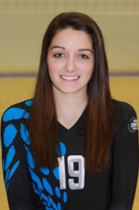 Grace Hern, 5-foot-7, setter/RS, 8th grade, Our Lady of Lourdes (Omaha Marian)