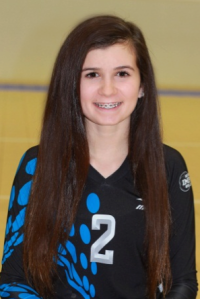Lindsey Muraskin, 5-foot-4, Libero, 8th grade, Elkhorn Ridge MS (Elkhorn South)
