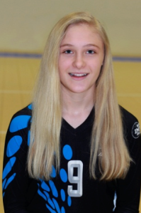 Madison Evans, 5-foot-4, DS/Libero, 8th grade, Buffett MS (Millard North)
