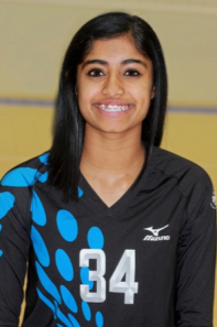 Nami Surendranath, 5-foot-8, Middle, 8th grade, Millard North MS (Millard North)