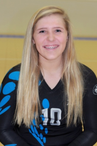 Sara Burger, 5-foot-7, setter/RS, 8th grade, Russell MS (Millard West)